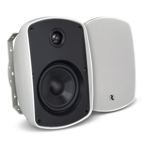 """Russound 5B55W 5.25"""" 2-Way OutBack Indoor/Outdoor Speakers in White - Used, Very Good"""
