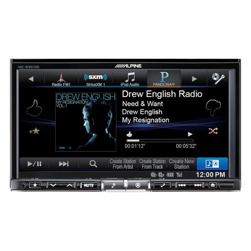 Alpine INE-W957HD 7-Inch Audio/Video/Navigation System - Used Good