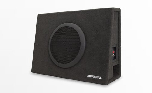 """Alpine SBT-S10V Truck Enclosure with 10"""" SWT Subwoofer - Open Box"""