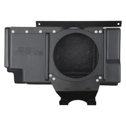 """SSV Works RZ3-BSSB10-U Polaris RZR XP 1000/XP 4 1000 Behind Seat Unloaded 10"""" Sub Box"""