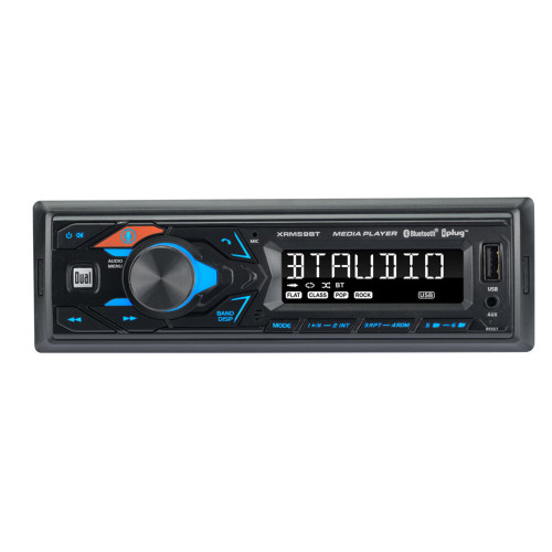 Dual XRM59BT AM/FM Digital Car Stereo