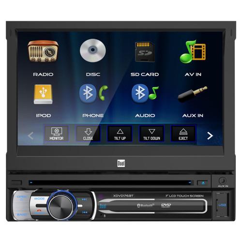 "Dual XDVD176BT 7"" Multimedia DVD Receiver"