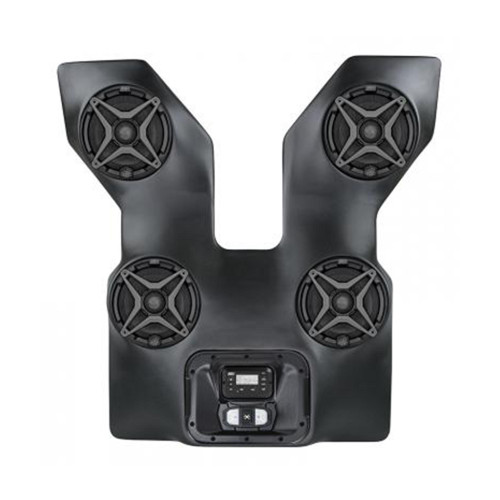 SSV Works WP3-WC2O4A Arctic Cat Wildcat Trail/Sport  4 Speaker Overhead Weather Proof Sound Bar