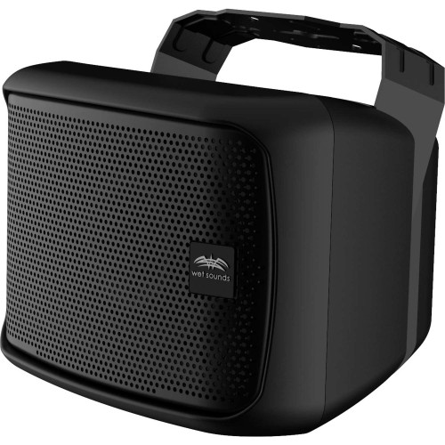 """Wet Sounds Venue Series 6x9"""" Horn Loaded Compression Driver Outdoor Speaker, Black, Sold Individually"""