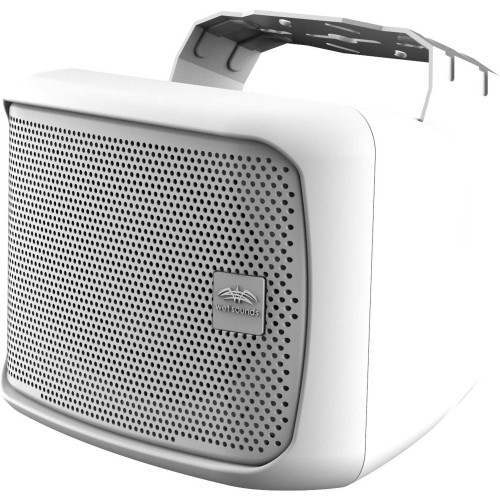 """Wet Sounds Venue Series 6x9"""" Horn Loaded Compression Driver Outdoor Speaker, White, Sold Individually"""