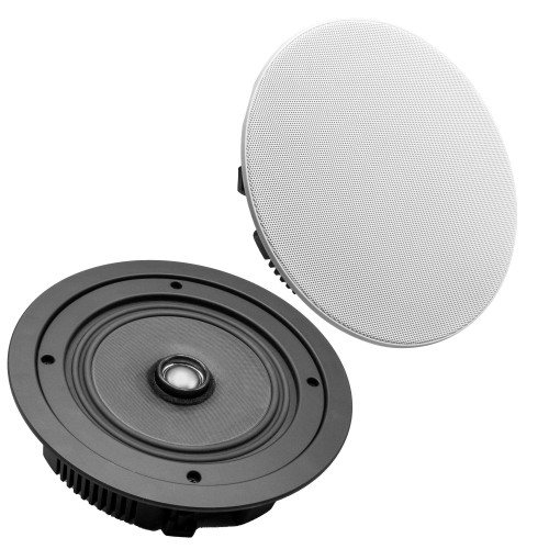 "Wet Sounds Venue Series 6.5"" Shallow Mount Ceiling Speakers, Pair"