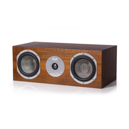KLH Story Center Channel Speaker - Walnut