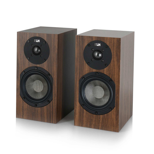 KLH Albany II Bookshelf Loudspeakers, Sold as a Pair -European Walnut