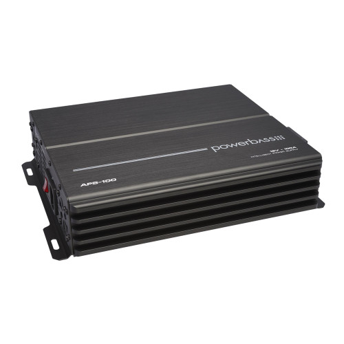 PowerBass APS-100X - 100 Amplifier AC to DC Power Supply 220-240V AC - Open Box