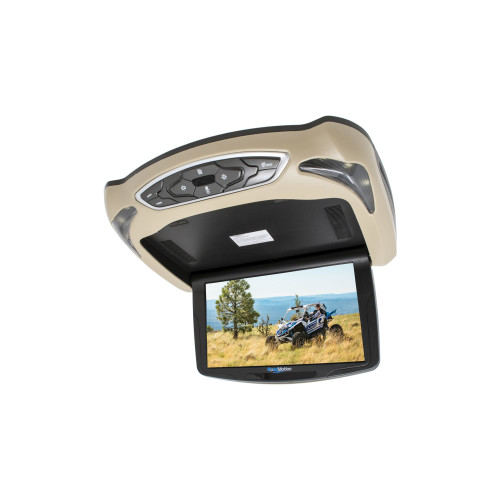 """RoadMotion RM10 10.2"""" LED 16:9 High Resolution Overhead Monitor w/Built-In DVD Player - Used Acceptable"""