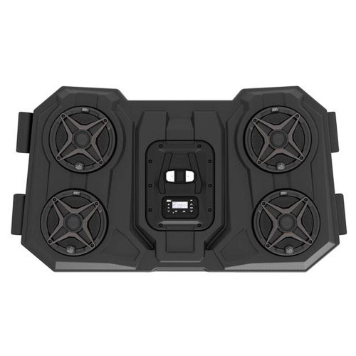 SSV Works WP3-RZ3O65 Polaris RZR 1000  2 and 4 seat Bluetooth 4 Speaker Overhead Weather proof Audio System