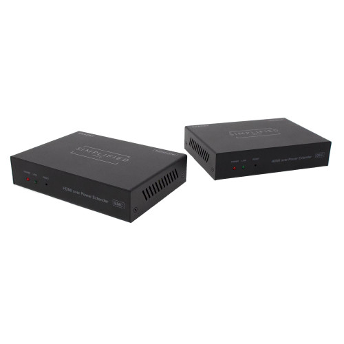 Simplified MFG EXACKT - HDMI over Power Line extender Kit