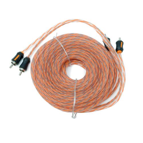 Memphis Audio ETP-21 21-Foot 2-Channel Audio Interconnect Cables - Open Box