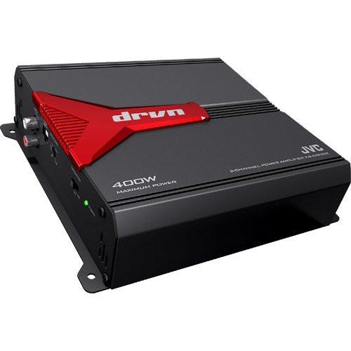 JVC drvn 2-Channel Power Amplifier KSAX3202 - Used Acceptable
