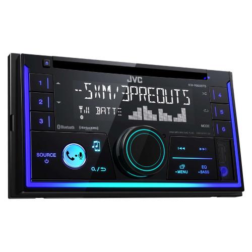 JVC KW-R930BTS 2-Din CD Receiver featuring Bluetooth / USB / SiriusXM / Pandora / iHeartRadio / Spotify / 13-Band EQ - Used Good