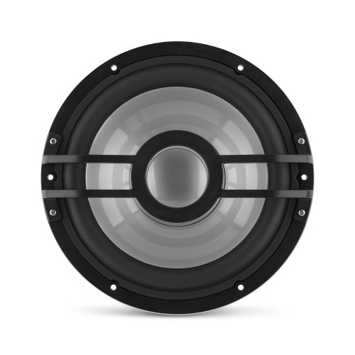 Clarion CMSP-101RGB-2 10-inch, 2-Ohm, Marine Subwoofer With Built-In RGB Illumination 250W RMS Power Handling