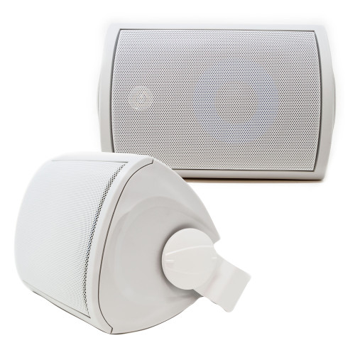 """Legrand MS3523WH 3000 Series 5.25"""" Outdoor Speakers (Pair) Off-White"""