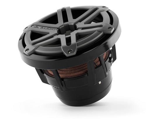 JL Audio M8IB5-SG-TB:8-inch (200 mm) Marine Subwoofer Driver Titanium Sport Grilles - Open Box