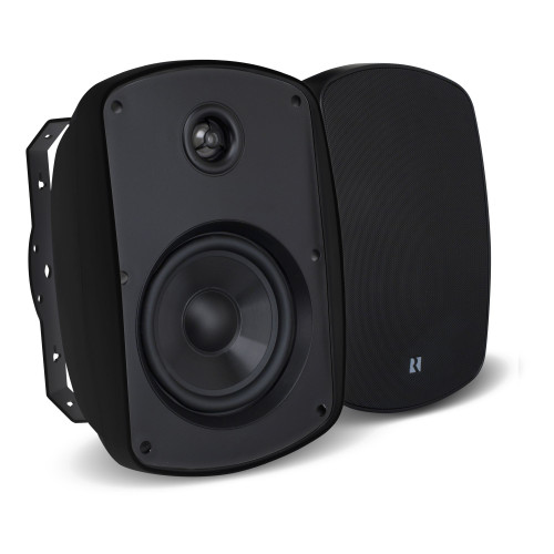 """Russound 5B55B 5.25"""" 2-Way OutBack Indoor/Outdoor Speakers in Black - Used Good"""