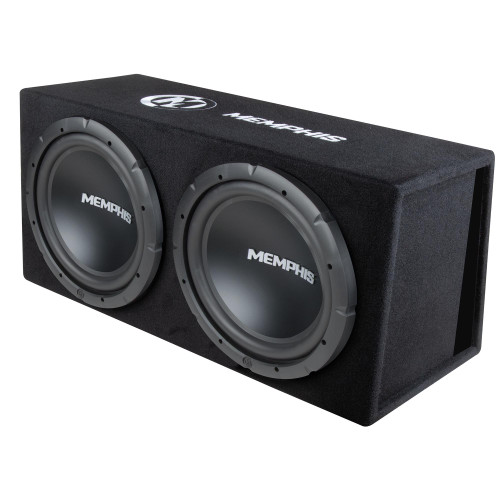"""Memphis Audio SRXE212V Dual 12"""" Bass System"""