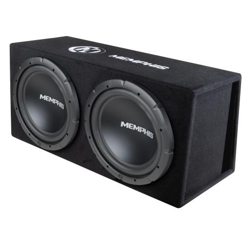 "Memphis Audio SRXE212VP Powered Dual 12"" Bass System"