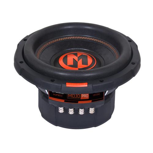 "Memphis Audio MJP1022 MOJO Pro Series 10"" Component Subwoofer With Dual 2-ohm Voice Coils"