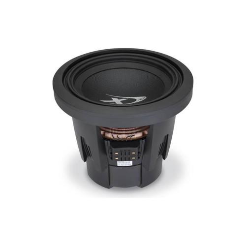 "Alpine SWX-1043D Type-X 10"" subwoofer with dual 4-ohm voice coils"