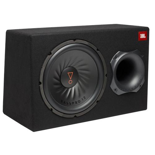 "JBL BASSPRO12 BassPro 12"" (300mm) Car Audio Powered Subwoofer System with Slipstream Port Technology"