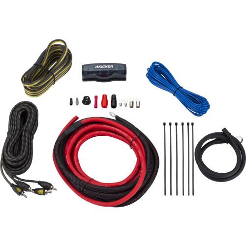 Kicker 47VK6 VK6 6AWG Complete Amplifier Wiring Kit w/2CH Interconnects