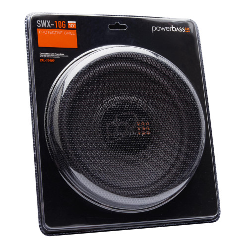 """PowerBass SWX-10G - 10"""" Steel Subwoofer Grill - 2XL - Like New"""