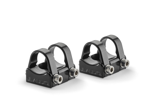 """JL Audio PS-SWMCP-B-1.500 Pipe Mounting Fixtures (Swivel) for VeX Speaker Systems. Clamps have inner-diameter of 1.500"""" - Like New"""