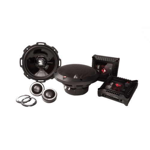 """Rockford Fosgate T2652-S 6.5"""" 2-Way System- 100 Watts Rms, 200 Watts Peak, Grilles Included"""