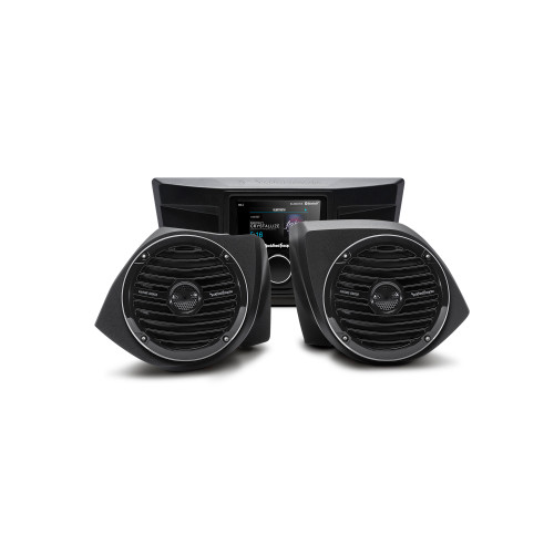 Rockford Fosgate YXZ-STAGE2 Stereo And Front Lower Speaker Kit Compatible With Select Yxz Models