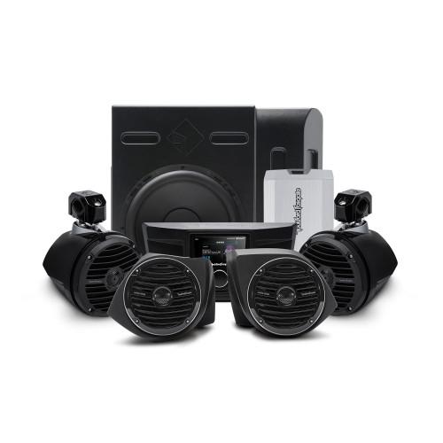 Rockford Fosgate YXZ-STAGE4 400 Watt Stereo, Front Lower Speaker, Subwoofer, & Rear Speaker Kit Compatible With Select Yxz Models