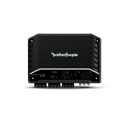 Rockford Fosgate R2-500X4 4 Channel Amplifier- 75x4 @ 4-Ohm, 125x4 @ 2-Ohm, 250x2 @ 4-Ohm Bridged
