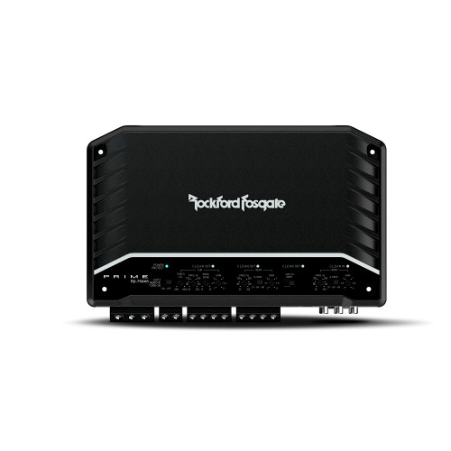 Rockford Fosgate R2-750X5 5 Channel Amplifier- 50x4 + 200x1 @ 4-Ohm, 100x4 + 350x1 @ 2-Ohm, 200x2 @4-Ohm Bridged