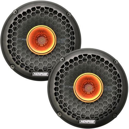 """Memphis Audio 2 SRXP82WT SRX Pro Audio 8"""" Coaxial Speakers"""