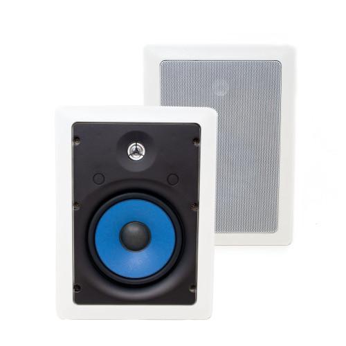 "Legrand MS3651 3000 Series 6.5"" In-Wall Speakers (Pair) - Like New"