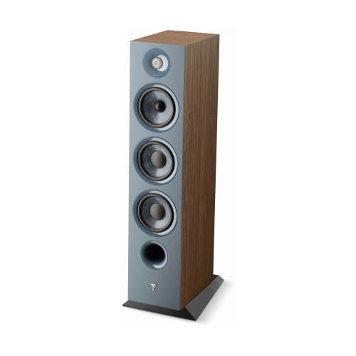 Focal Chora 826 3-way bass reflex floorstanding loudspeaker, Dark Wood, Sold Individually - Like New