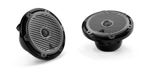JL Audio M770-TCX-CG-TB:7.7-inch (196 mm) Tower Coaxial System Titanium Classic Grilles - Used Good