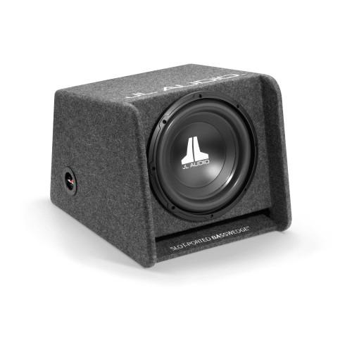 JL Audio CP112-W0v3:Single 12W0v3 BassWedge Ported 4 Ohm - Open Box