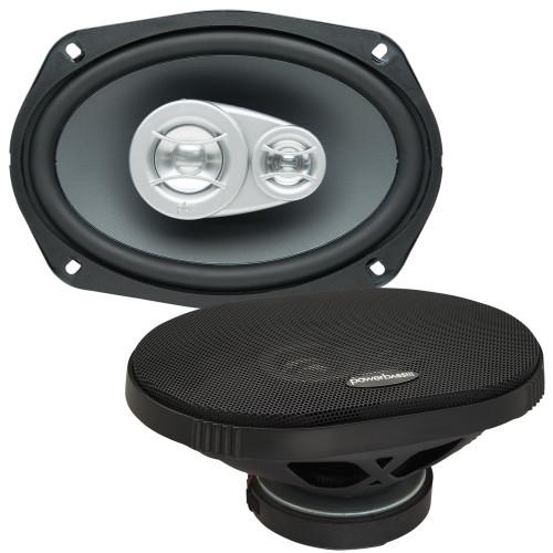 "PowerBass OE-693 - 6x9"" 3-Way Speaker 2-Ohm - Pair"