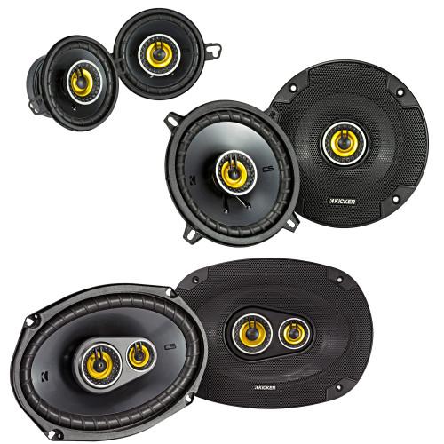 "Kicker for Dodge Ram Truck 2002-2011 Speaker bundle - CS 6x9"" 3-way speakers, CS 5.25"" speakers, And CS 3.5"" speakers"