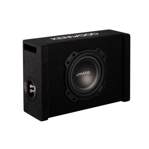 """Kenwood P-W804B 8"""" Subwoofer in Ported Enclosure, 300W RMS Power"""