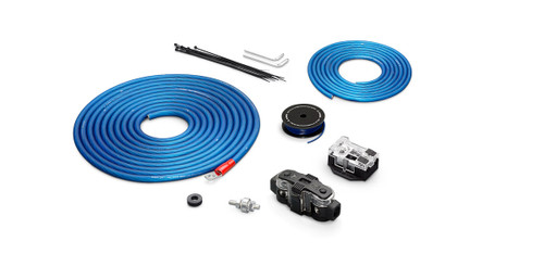 JL Audio XD-PCS4-2B:Premium 4 AWG 12 V Power Connection Kit Two Amplifiers