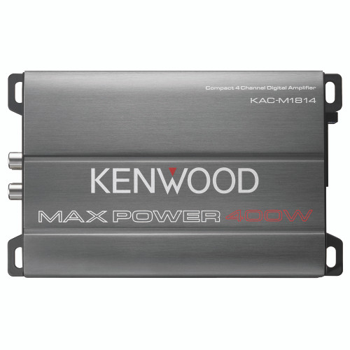 Kenwood KAC-M1814 4 Channel Compact Amplifier, Conformal Coated