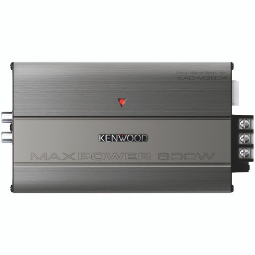 Kenwood KAC-M3004 Compact 4CH Power Amplifier, Conformal Coated,  400W Max Power