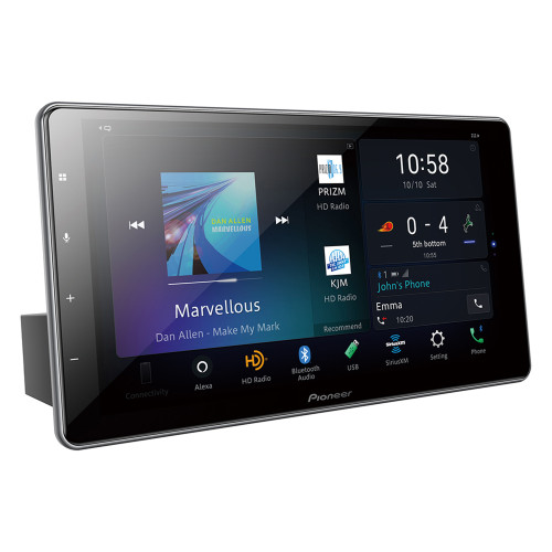 "Pioneer DMH-WT7600NEX - 9"" - Amazon Alexa, Android Auto, Apple CarPlay, Bluetooth - Multimedia Digital Media Receiver"