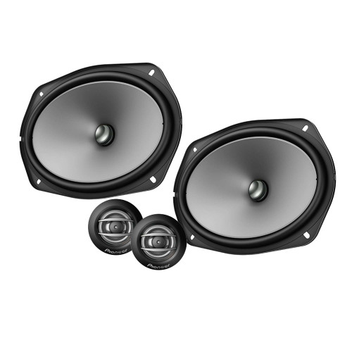 """Pioneer TS-A692C - 6"""" x 9"""" - 450 W Max Power, Carbon/Mica-reinforced IMPP cone, 20mm PI Tweeter - Composite Speakers"""
