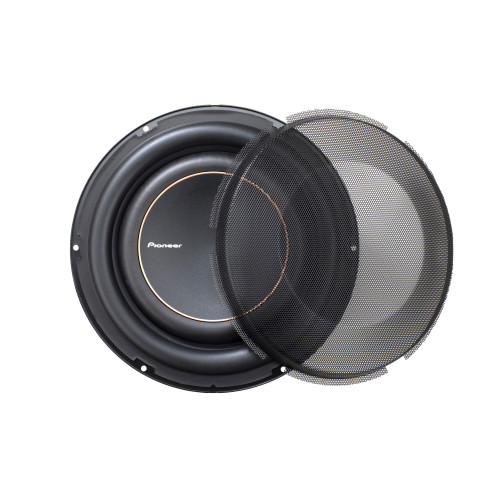 """Pioneer TS-D10LS4 - 10"""" - 1300w Max Power, Single 4 Ohm Voice Coil, Armid Fiber IMPP cone, Rubber Surround - Subwoofer"""